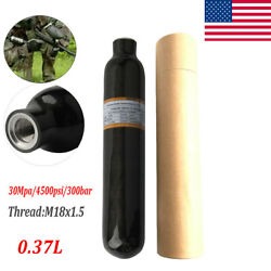 Ultralight Scuba PCP 0.37L 4500psi Carbon Fiber Cylinder Paintball PCP Air Tanks $142.99