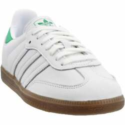 adidas Samba Og Lace Up Mens Sneakers Shoes Casual White $64.99
