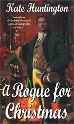 A Rogue For Christmas Zebra Regency Romance by Huntington Kate Good Book $1.61