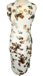 Shelby amp;Palmer Floral Sheath Colorful Mini Dress Workwear Cocktail Women Size 10 $20.00