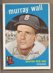 1959 Topps #42 MURRAY WALL NEAR MINT CONDITION $4.99