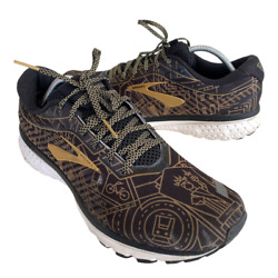 Brooks Ghost 12 Men#x27;s Size 12.5 Black Athletic Running Training Shoes Sneakers $61.56