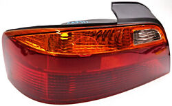 OEM Acura TL Left Driver Tail Lamp Spider Crack in Signal Lens 33551 S0K A01 $61.18