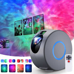 Rotation LED Starry Sky Projector Light Ocean Wave Star Galaxy Nebula Night Lamp $46.99