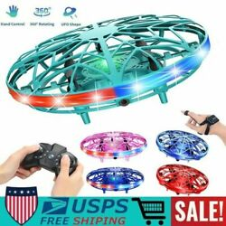 Mini Drone Quad Induction Levitation UFO Hand Operated Helicopter Toys For Kids $24.99