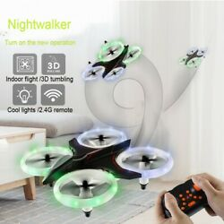 XXD158 Cool Light 6 Axis Gyroscope Headless Mode Mini RC Quadcopter Toy New A $24.72