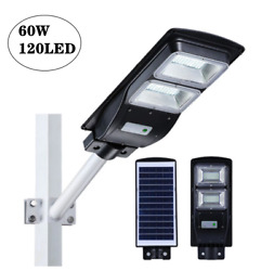 90W Commercial Solar Street Light LED Lights Outdoor Area Lights Dusk To Dawn