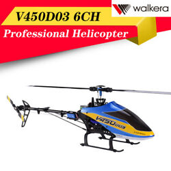 Walkera V450D03 6CH 6 Axis Stabilization System Single Blades BNF Helicopter $290.18