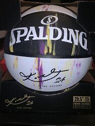 NEW SPALDING Basketball KOBE BRYANT Marbled Series LIMITED EDITION LAKERS COLORS $60.00