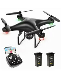 Snaptain Sp600 720P Hd Camera Drone For Adults Beginners Wifi FpvVoice Control $69.99