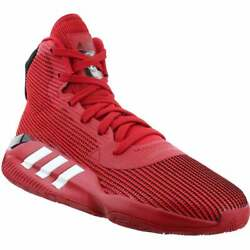 adidas Pro Bounce 2019 Team Mens Basketball Sneakers Shoes Casual Red $56.35