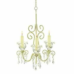 zings amp;amp; thingz 57070441 romantic candle chandelier cream $42.19