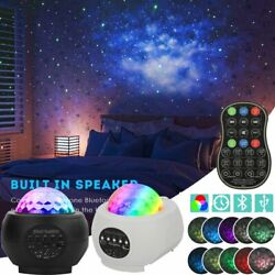 Bluetooth LED Galaxy Starry Night Light Projector Ocean Star Sky Speaker Player $31.99