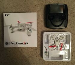 Hubsan First Person View Mini Quadcopter FPV in Good Condition $35.00