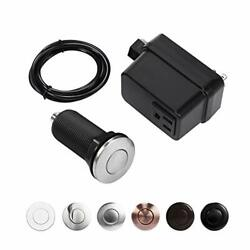 Garbage Disposal Air Switch Kit Sink Top Switch for disposal Stainless Steel $28.51