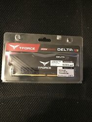 NEW Team T Force Delta RGB 8GB DDR4 2400MHz CL15 Gaming RAM Memory KIT $70.00