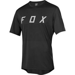Fox Racing Ranger MTB Short Sleeve Fox MTB Jersey Black Gray Medium $49.95