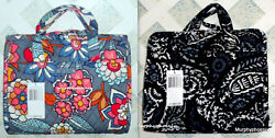 Vera Bradley Hanging Organizer Paisley Noir or Tropical Evening NWT 15829 $29.99