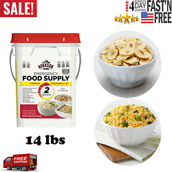 Augason Farms Deluxe Emergency 30 Day Food Supply 1 Person 200 Servings $59.39