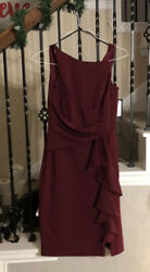 Burgundy Dress NWT Size 10 Special Occasion $40.00