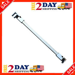 Stainless Steel Frameless Shower Door Fixed Panel Wall To Glass Support Bar $38.99