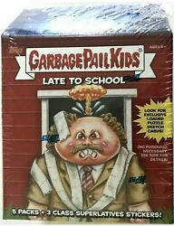 2020 TOPPS GARBAGE PAIL KIDS LATE TO SCHOOL BLASTER BOX FACTORY SEALED 🔥 $17.75
