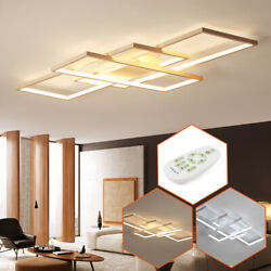 Modern Ceiling Light LED Acrylic Lamp Bedroom Living Room Chandelier with Remote $84.06