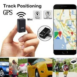 Mini GPS Car Tracker Strong Real Time Magnetic Small GPS Tracking Device Locator $12.89