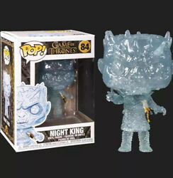 Funko POP TV: Game Of Thrones Crystal Night King w Dagger in Chest Brand New $12.00