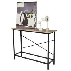 Console Table Modern Accent Side Stand Entryway Hall Display Drawer Storage $47.99