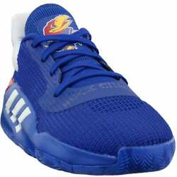 adidas Pro Bounce 2019 Low Mens Basketball Sneakers Shoes Casual Blue $59.99