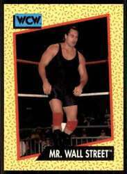 1991 Wcw Impel Wrestling Wwe MR. Wall Street #84 $1.12
