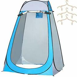 Siwanamu Pop Up Tent Portable Toilet Shower Privacy Tent Waterproof and Sun $41.12