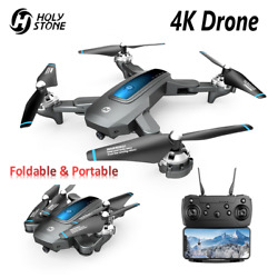 Holy Stone HS240 4K Selfie Drone HD Camera FPV Live Video Foldable RC Quadcopter $59.99