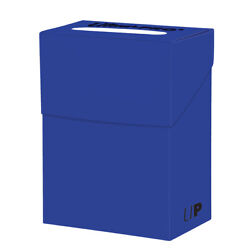 Ultra Pro Deck Box For Collectible Gaming Cards PACIFIC BLUE Holds Sleeved Cards $1.99