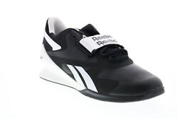 Reebok Legacy Lifter II FU9459 Mens Black Athletic Weightlifting Shoes $121.99