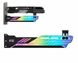 EZDIY FAB RGB GPU Holder 5V 3 Pin Colorful RGB Graphics Card GPU Support Vide... $30.39