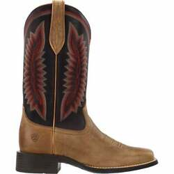 Ariat Quickdraw Legacy Square Toe Womens Boots Mid Calf Low Heel 1 2quot; $89.99