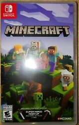 Nintendo Switch Minecraft Game BRAND NEW FACTORY SEALED $29.99