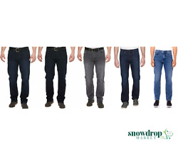 NWT Urban Star Men's Jeans Relaxed Fit – Straight Leg Stretch Jeans for Men $29.99
