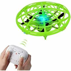 Flying Ball Drones For Kids Remote Control Toys With 2 Speeds And LED Light Boys $27.84