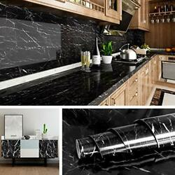 Marble Wall Paper Kitchen Counter Top Covers Peel amp; Stick Wallpaper 15.8x78.8quot; $14.47