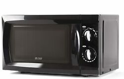 Commercial Chef CHM660B Countertop Small Microwave Oven 0.6 Cubic Feet Black $40.55