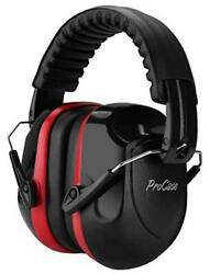 Noise Reduction Ear Muffs NRR 28dB Shooters Hearing Protection Headphones Red $22.01