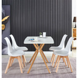 5 Piece Dining Table Set Dining Table And 4 Dining chairs For Dinner Kitchen NEW $175.00