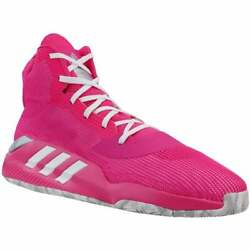 adidas Pro Bounce 2019 Team Mens Basketball Sneakers Shoes Casual Pink $69.99