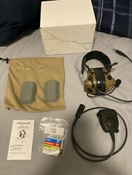 New 3M Peltor ComTac III ACH Single Comm Headset w PTT $500.00