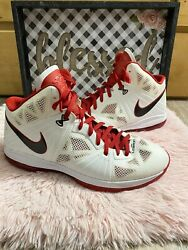 Nike Lebron 8 PS South Beach Christmas Size Mens 15 441946 100 Sneakers $84.99