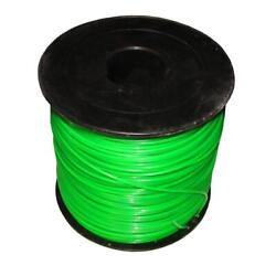 .095 5lb Round Green Commercial String Trimmer Line Roll For Echo Redmax Fits St