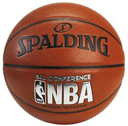 Spalding NBA All Conference PU Composite Basketball Youth Size 5 27.5quot; NEW $26.99